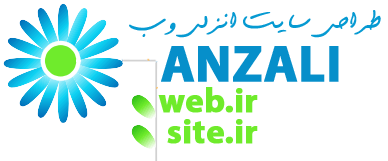 لوگو طراحی سایت انزلی وب